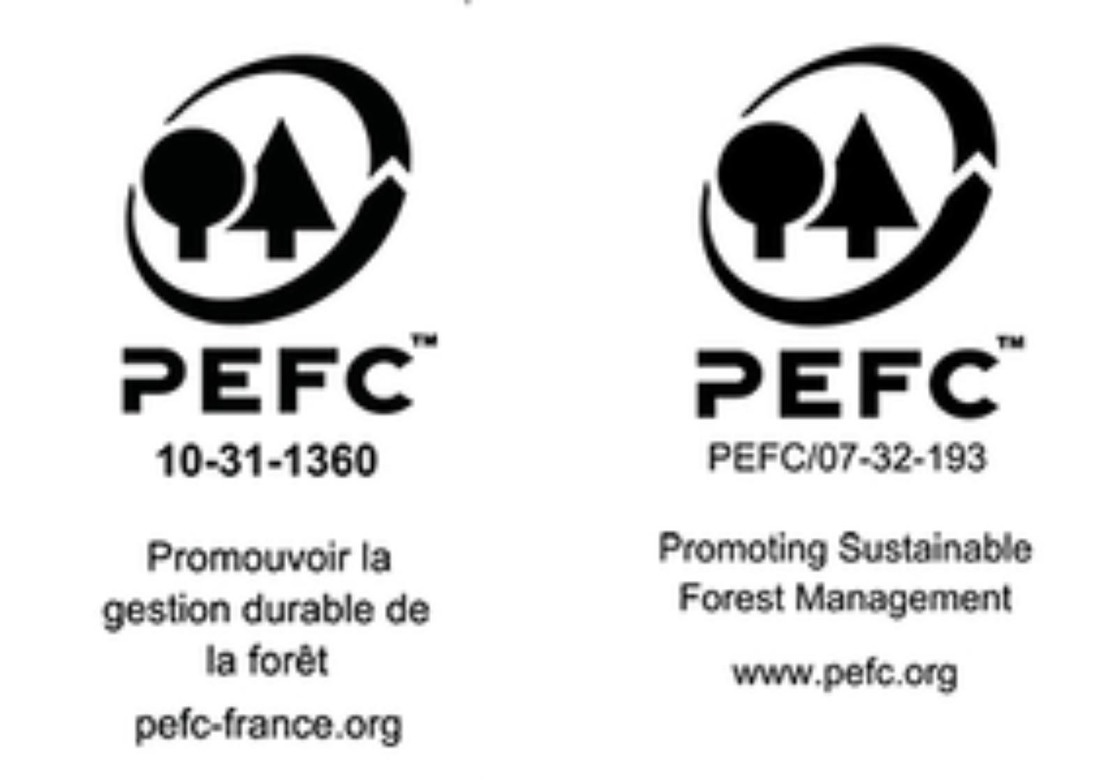 PEFC logos FR BE zonderkader